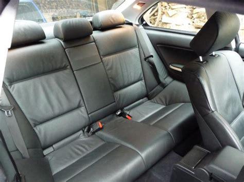 interieur cuir bmw e46 coupe mouvement uniforme de la voiture