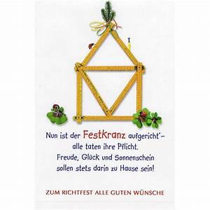 Spruch Zur Hauseinweihung : karte zum richtfest mit 800 800 pixel ~ Lizthompson.info Haus und Dekorationen