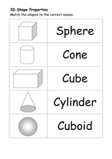 2d and 3d shape worksheets by ehazelden uk teaching resources tes