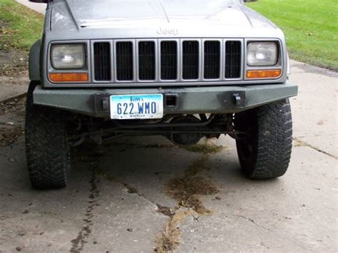 homemade jeep bumper plans jeep cj homemade bumper