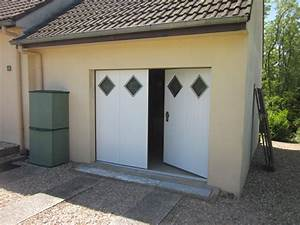 portes de garage isolation service menuiserie pose de With porte de garage avec cadre porte interieur