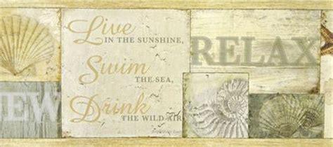dlrb sand dollar wallpaper border  brewster