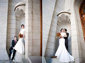 Fall Wedding Glamour Temple Square