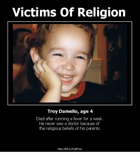 victims  religion troy damelio age  died  running