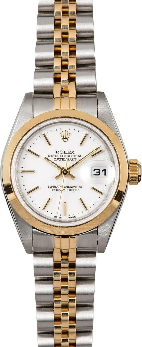Rolex Women's Datejust 79163 White