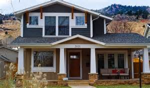 two story craftsman two story craftsman style exterior