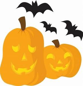 Halloween Clipart Black And White, Scary Pumpkin Clip arts ...