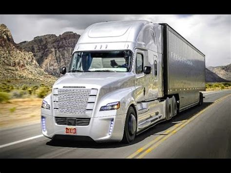 Daimler's Self Driving Truck Nevada Worlds First Licensed