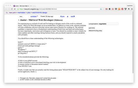 Find Resumes On Craigslist by How To Kill At Finding On Craigslist