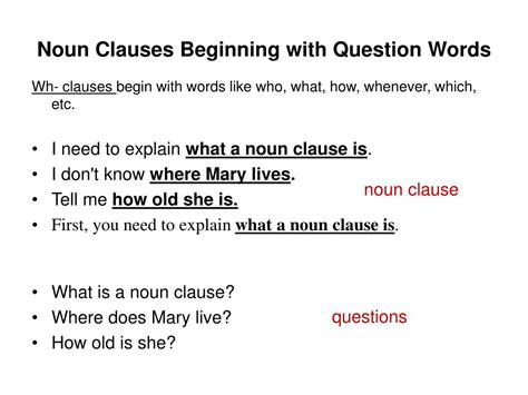 Noun clause as a subject. PPT - Noun Clauses PowerPoint Presentation, free download - ID:4632511