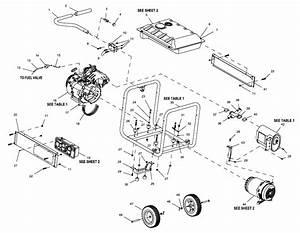 Generac 5943-0 Parts List And Diagram