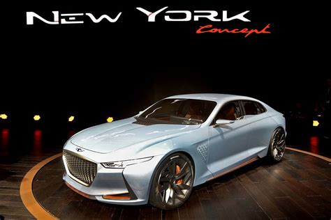 Hyundai New York genesis ny concept set to become 3rd sedan in new luxury