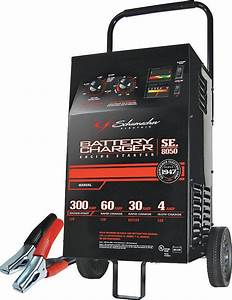 Schumacher 300  200  60  30 Amp Manual Starter  Charger With
