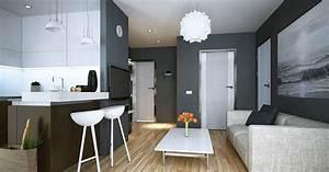 Wand Grau Streichen : wand streichen mit grauer wandfarbe ideen von adler ~ Frokenaadalensverden.com Haus und Dekorationen