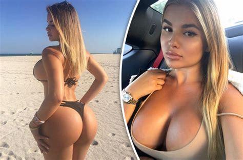 Russian Model Anastasiya Kvitko Who Has Inch Hips Claims She Has The Perfect Body Daily Star