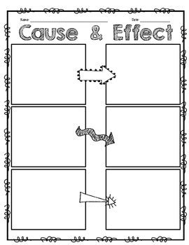 cause effect interactive notebook by adrienne wiggins tpt