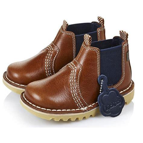 Kick Chelsea Boot Infant Dark Tan/Blue 13533, the popular ...