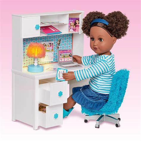 american desk set desk accessories my life as my life as dolls