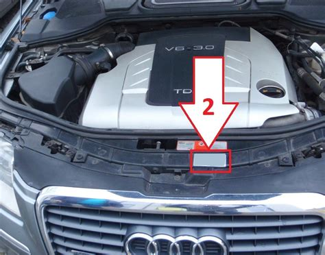 audi vin decoder audi a8 2003 2007 where is vin number find chassis