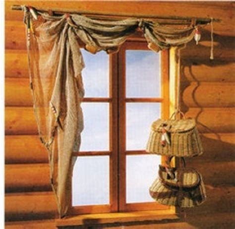 amazing collection of cabin window treatments