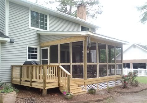 how much does it cost to remodel a home screened porch plans diy