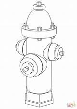 Fire Hydrant Coloring Pages Drawing Printable Colouring Template Sketch Paper Getdrawings sketch template