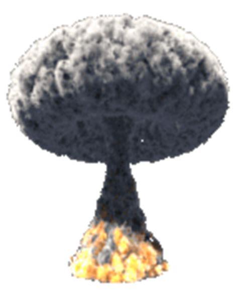 cuisine clipart gifs explosion nucleaire animes chignon atomique