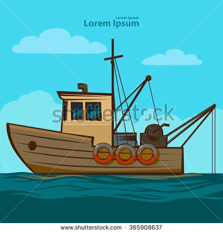 Simple Boat Clipart by Fishing Boat Stock Vectors Vector Clip