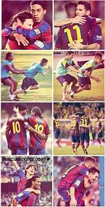 Neymar can become the best says Messi   Best Footballers