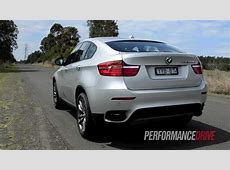 2012 BMW X6 M50d engine sound and 0100kmh acceleration