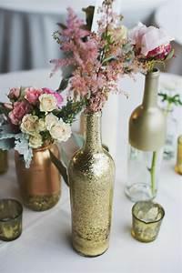 Kleine Weiße Vasen : tischdeko zur goldenen hochzeit 25 anregungen f rs fest ~ Michelbontemps.com Haus und Dekorationen