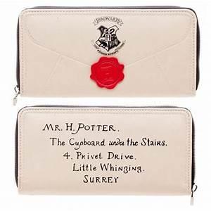 harry potter letter zip around wallet bioworld harry With hogwarts letter zip wallet