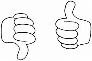 Thumbs up down clipart clip art of 9 - ClipartPost