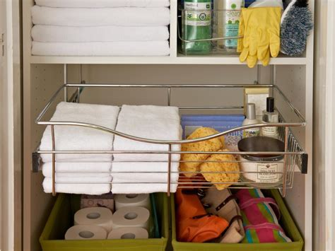 Organize Your Linen Closet and Bathroom Medicine Cabinet
