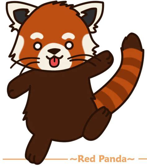 red panda cartoon clipart panda  clipart images