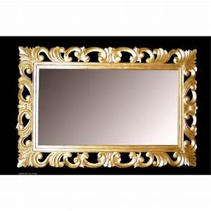Miroir Baroque Doré : location de miroir pour un v nement paris ~ Teatrodelosmanantiales.com Idées de Décoration