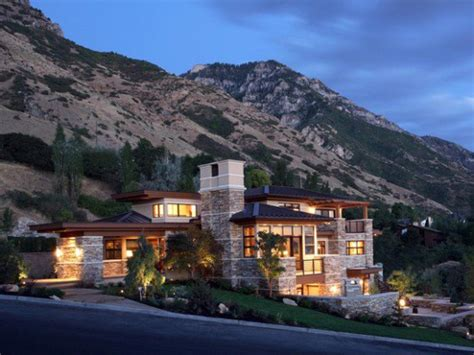 stunning mountain homes floor plans photos mountain house with view