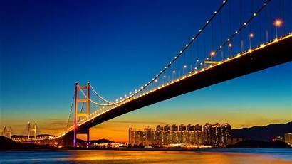 Bridge Gate Golden Francisco San Night California