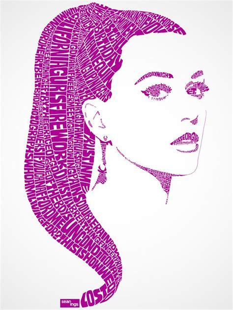 katy perry typography portrait typography pinterest portrait typographic design and design