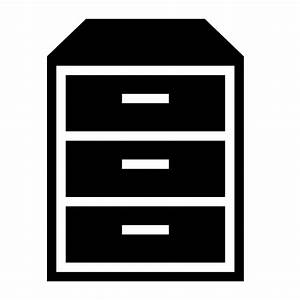 Collection of file cabinet icons free download