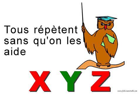 Comptine Alphabetique Pour Apprendre