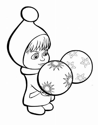 Coloring Ball Pages