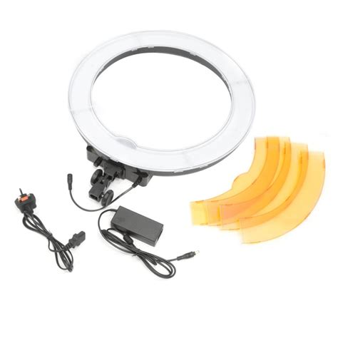 led ring light pixapro rico240 daylight balanced led ring light 48cm 19