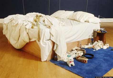 Tracey Emin My Bed by The World S Most Infamous Unmade Bed Is Up For Auction For