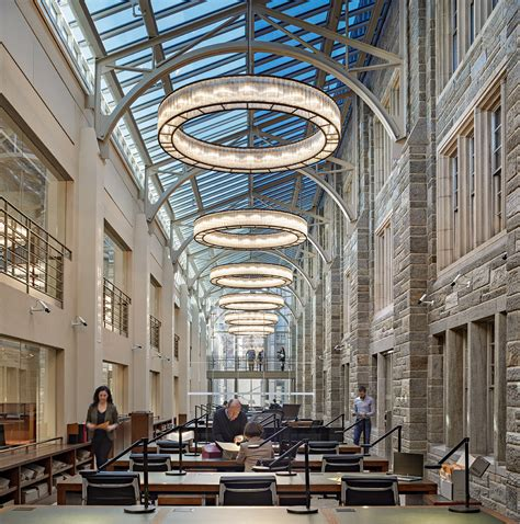 Architectural Lighting Design by Princeton Firestone Library Lam Partners Architectural