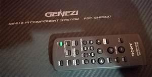 Minicomponente Sony Genezi Fst-sh2000