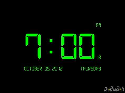 digital clock digital clock