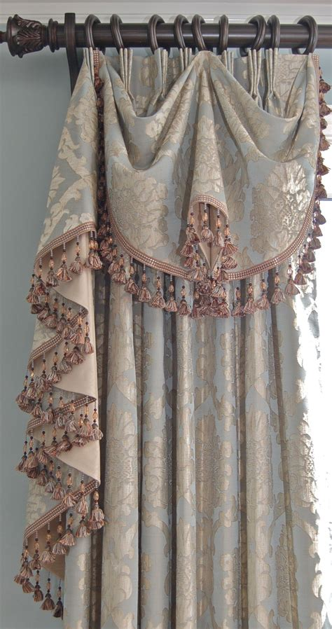 Window Drapes by Wilshire Swag And Casa Window Drapes