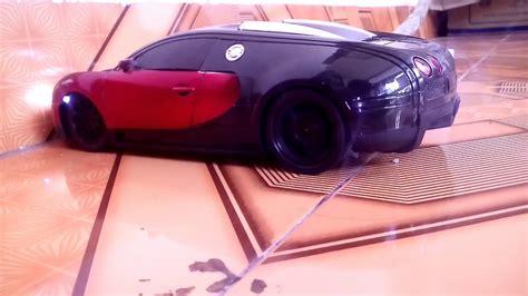 Bugatti veyron super sport burnout launch acceleration. RC Bugatti veyron burnout - YouTube