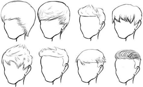 male hair sketches fashion sketch  tutorial pinterest